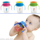 Wow Cup Trainer No Spill Baby Drinking Sippy Cup Drink Beaker Lid 207mL 9m+