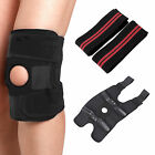 Knee Support Neoprene Hinged Brace Open Patella Strap Injury Arthrit Pain Relief