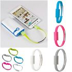 Magnetic Bracelet Charger Cable Micro USB Data Wire for Android, iPhone z3