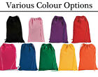 Choose a Colour - 12 Drawstring Fabric Bags for Parties or Decoration