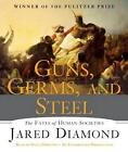 NEW Guns, Germs, and Steel By Jared Diamond Audio CD Free Shipping