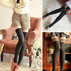 Hot Women Sexy Temptation Sheer Mock Suspender Tights Hosiery Pantyhose Stocking