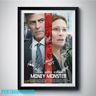 MONEY MONSTER PP Signed Poster rpt A4 5x7 George Clooney Julia Roberts