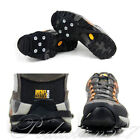New Ice Snow Ghat Non-Slip Spikes Shoes Boots Grippers Crampon Walk Cleats Cool