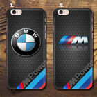 BMW M style car case cover iPhone 5 5c 5s 6 6s plus + Samsung