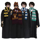 Harry Potter Gryffindor/Slytherin/Hufflepuff/Ravenclaw Cloak/Sweater/Scarf/Tie