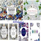 12pages Books Kid Adult English Graffiti Coloring Book Children Paperback Gift H