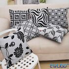 Vintage Retro Linen Cotton Cushion Cover Waist Throw Pillow Case Home Sofa Decor