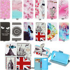 Luxury Flip Magnetic Wallet Pattern PU Leather Case Cover With Stand For Samsung