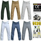 Men's Motorbike Cotton Jeans Pants Reinforced with DuPont™ Kevlar® fiber