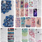 For Apple iPhone 7 Ultra Thin Soft Gel Clear TPU Painted Back Phone Case Cover