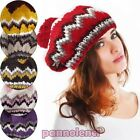 Women's hat knitted winter CHEERLEADER baseball cap new gift idea AS-123