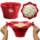 Silicone Microwave Popcorn Popper Foldable Bowl Home DIY Kitchen Tools