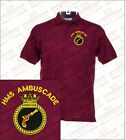 HMS AMBUSCADE  Embroidered Polo Shirts