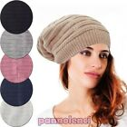 Women's hat knitted winter jersey baseball cap new gift idea M-380