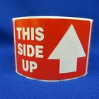 """This Side Up 2""""x3"""" - Packing Shipping Handling Warning Label Stickers"""