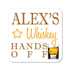 Personalised Whiskey Drinks Wooden Gift Coaster Mat Present