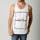 NEW Men's Deacon White NOCHES Style Casual Tank Fashion Festival Singlet gym