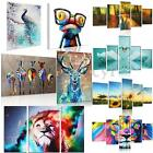 Modern Abstract HD Unframed Canvas Print Animal Wall Art Painting Picture Mural