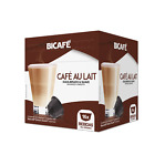 BiCafe® Cafe Au Lait Dolce Gusto® Compatible Coffee Capsules Pods