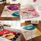 Flair Rugs Mod Art Poppy Flowers Handtufted Rug