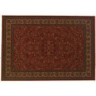 7' x 10' Couristan Everest Stain resistant Isfahan Floral Rug (MULTI - COLOR)