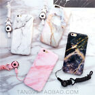 Stylish Marble Stone Cool Soft Bumper Case Cover for iPhone 8 7 7 Plus 6 6S Plus