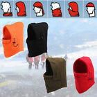 Unisex Winter Fleece Warm Balaclava Motorcycle Ski Windproof Full Face Mask Hat