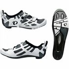 Pearl Izumi Mens Tri Fly V Carbon Triathlon Cycle Cycling Shoes - White/ Black