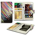For Archos 50 Platinum - Clip Printed Series PU Leather Wallet Case