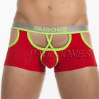 Mens Hollowed Underwear Boxer Briefs Trunks Shorts Underpants Backless Pouch New