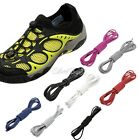 Elastic Locking Shoelaces Trainer Running Jogging Triathlon Sporting Shoelaces