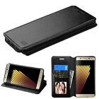 Luxury Leather Flip Wallet Case Cover For Samsung Galaxy Note 7