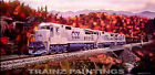 CSX 'Coal Train' Train Art Print - AP
