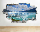 H235 Mountain Scenic Lake Glacier Smashed Wall Decal 3D Art Stickers Vinyl Room