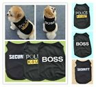 Внешний вид - Cat Small Dog Puppy Vest T-Shirt Coat Pet Clothes Summer Apparel Costumes Black