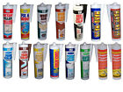 151 CARTRIDGE SEALANTS / FILLERS / ADHESIVES / SILICONE - 15 TYPES  FREE POSTAGE
