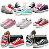 Men Women Convers Canvas Shoes All Stars Trainers Low Top Chuck Taylor Sneakers