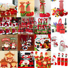 Внешний вид - Santa Pants Christmas Candy Bags Wine Stocking Bottle Gift Bag Xmas Decoration