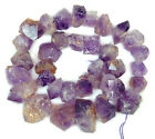 12x13-15x25mm Natural Purple Amethyst Gemstone Nugget Spacer Loose Beads 15""