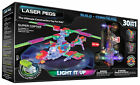 Laser Pegs 30 in 1 Super Copter Light Up Brick Compatible Construction