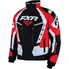 FXR™ Men's Team FX Insulated Snowmobile Jacket w/ Liner - Red - 16010.501_