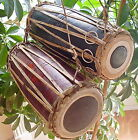 FAIR TRADE NEPALESE MANDAL MADAL TABLA HAND DRUM PERCUSSION - 2 SIZES