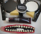 HALLOWEEN-Circus-Scary-Evil-Twisted Clown ZOMBIE HORROR MAKE UP SET