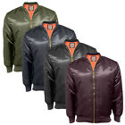 Men's Soul Star MA MJ1 Bomber Pilot Jacket Zip Up Outdoor Jacket