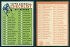 (46552) 1964 Topps 438 Checklist 6th Series-NM