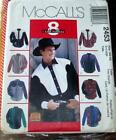 McCALL'S Pattern 2453 Men's Shirt Sz 46 - 48 NEW