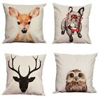 Fashion Hot  Multi-animal Throw Pillow Cases Home Decor Cushion Cover Square
