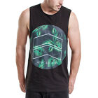 New St Goliath Mens muscle tank cotton Deep cut clothing tshirt casual crew neck