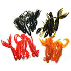 4Pc Minnow Soft Bait Artificial Fishing Lure Worm Shrimp Tackle Kit